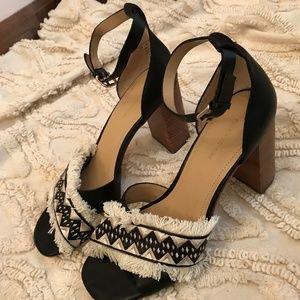 03d3d362b2a Pour la Victoire Shoes - Pour La Victoire Havana Block Heel Size 7.5